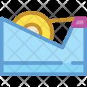 Tape Equipment Stationary Icon