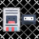 Tape Cassete Player Tape Icon