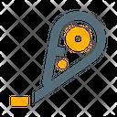 Tape Corrector Icon