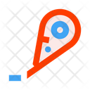 Office Stationery Tape Corrector Corrector Icon