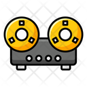 Tape Deck Cassette Recorder Sound Recorder Icon