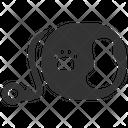 Tape Leash Pet Equipment Leash Icon
