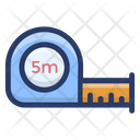 Tape Measure Meter Tape Scale Icon