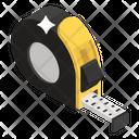 Tape Measure Inches Tape Measurement Icon