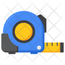 Tape Measure Inches Tape Measuring Tool Icon