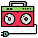Tape Player Electric Equipment Icon
