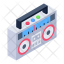 Tape Player Stereo Player Cassette Player Icon