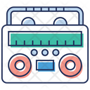 Reel To Reel Tape Recorder Cassette Recorder Icon