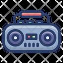 Tape Recorder Wireless Transmission Audio Device Icon