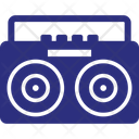 Tape Recorder Audio Player Music Tape Icon