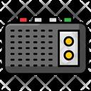 Radio Music Player Tape Recorder Icon