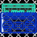 Tape Recorder Cassette Recorder Cassette Player Icon