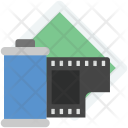 Tape Reel Camera Icon