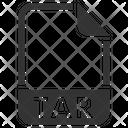 Tar Document File Icon
