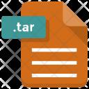 Tar File Sheet Icon