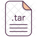 Tar File Document Icon