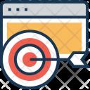 Target Focus Dart Icon