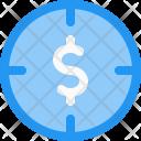 Target Money Finance Icon