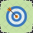 Target Aim Dartboard Icon