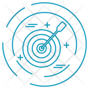 Target Dartboard Aim Icon