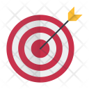 Target Marketing Goal Icon