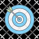 Aim Goal Marketing Icon