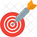 Target Arrow Darts Icon