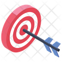 Business Target Financial Goal Business Goal Icon