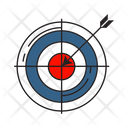 Target Arrow Accuracy Icon