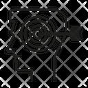 Dart Arrow Head Icon