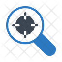 Search Target Glass Icon