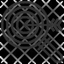 Target Concept Seo Icon
