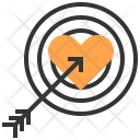 Target Heart Love Icon