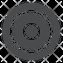 Goal Bullseye Focus Icon