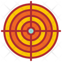 Target Marketing Target Goal Icon