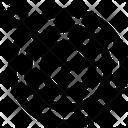 Target Goal Dart Icon