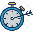 Marketing Stopwatch Dart Icon