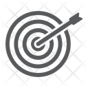 Target Business Dartboard Icon