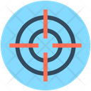 Dartboard Game Aim Icon
