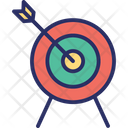 Aim Goal Intention Icon