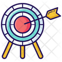 Target Archery Target Board Icon