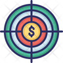 Target Profit Money Icon