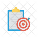 Target Project Goal Icon