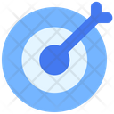 Target Aim Arrow Icon