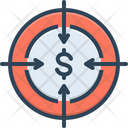 Target Ambition Intention Icon