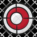 Target Focus Crosshair Icon