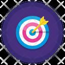 Target Dartboard Goal Icon