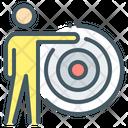 Target Targeting Goal Icon