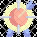 Target Goal Finance Icon