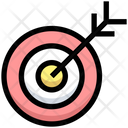 Business Financial Target Icon
